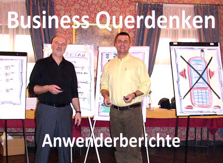 Business Querdenken – Anwenderberichte