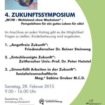 4. Zukunftssymposium in Steyr
